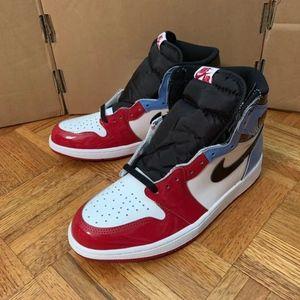 Nike Air Jordan 1 High OG Fearless UNC Chicago 9.5